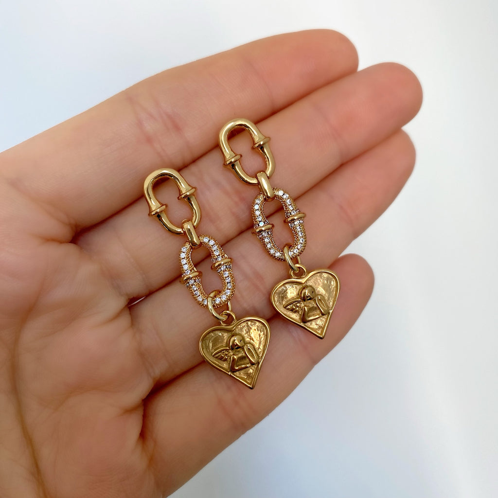 MILANO CHARM EARRINGS