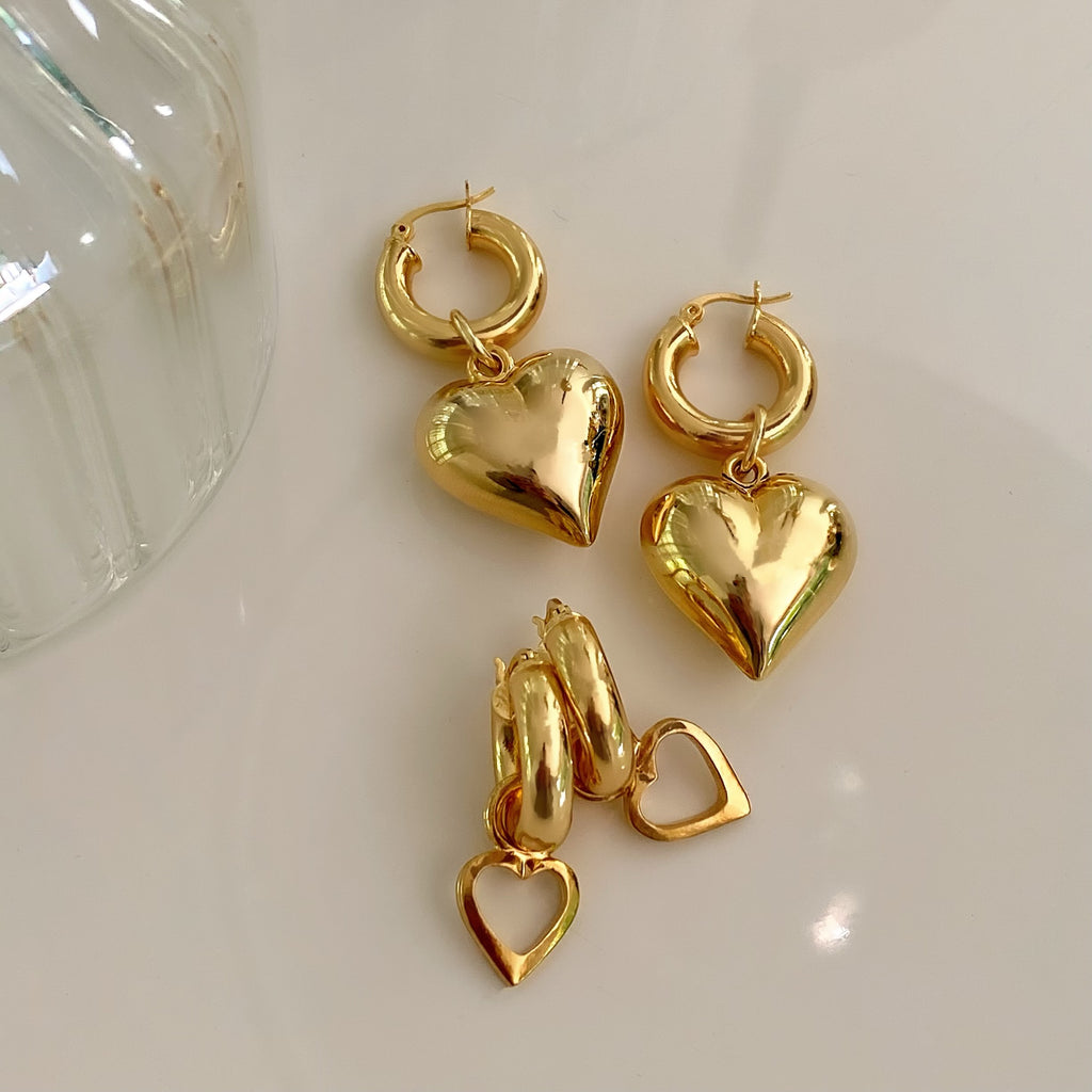 ICONIC 90s BARBIE HOOPS (SILVER & GOLD)