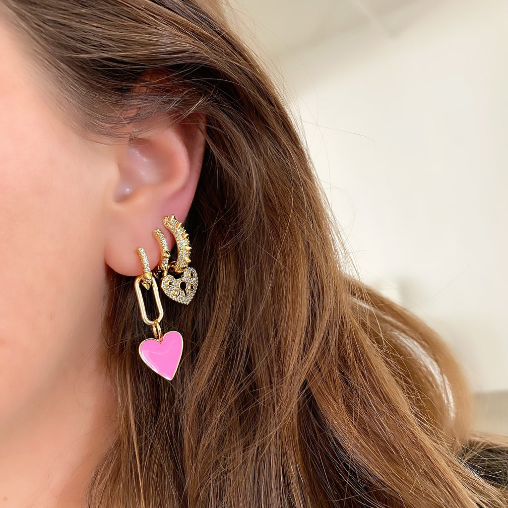 JE T'AIME EARRINGS