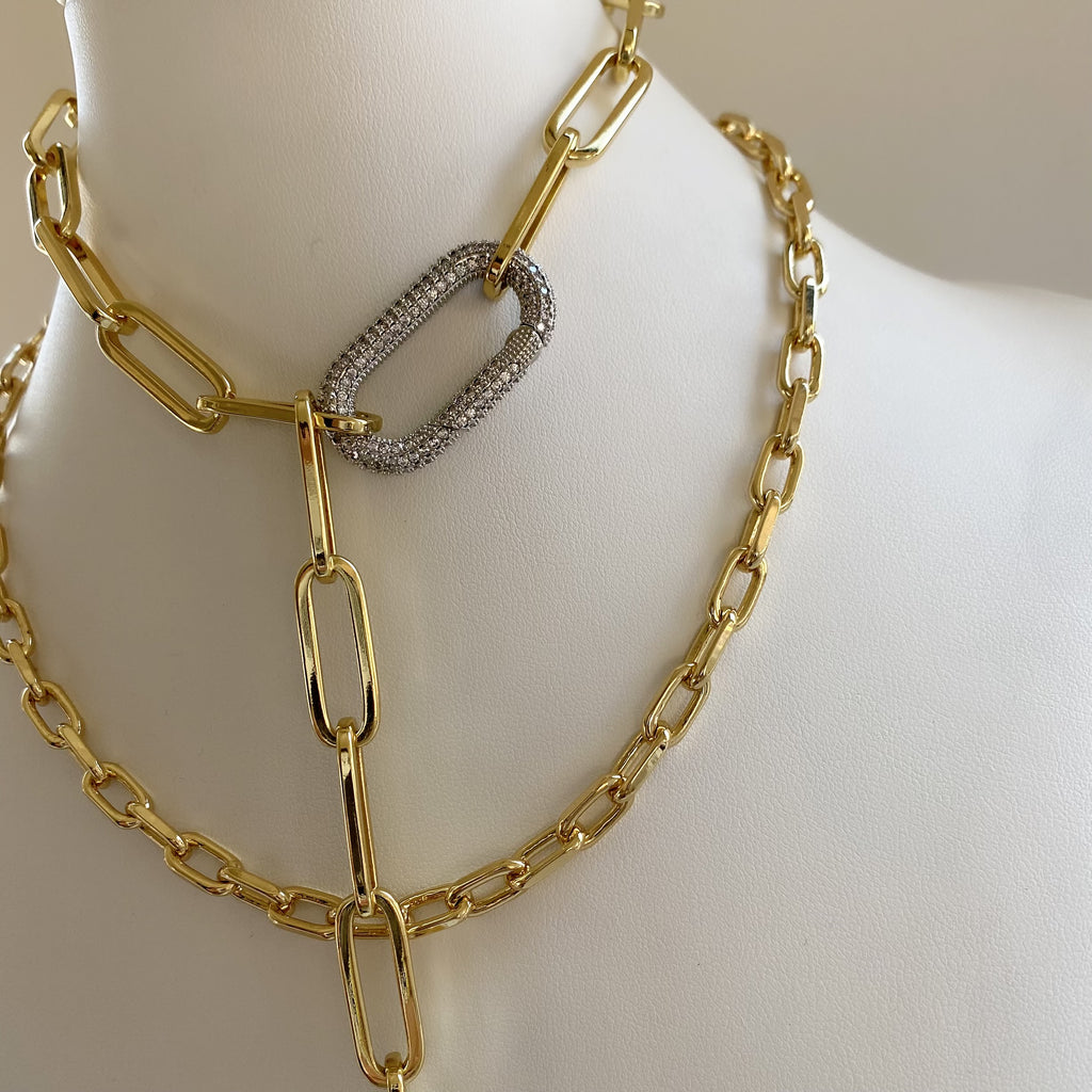 CARRÉE CHAIN (NECKLACE & BRACELET)