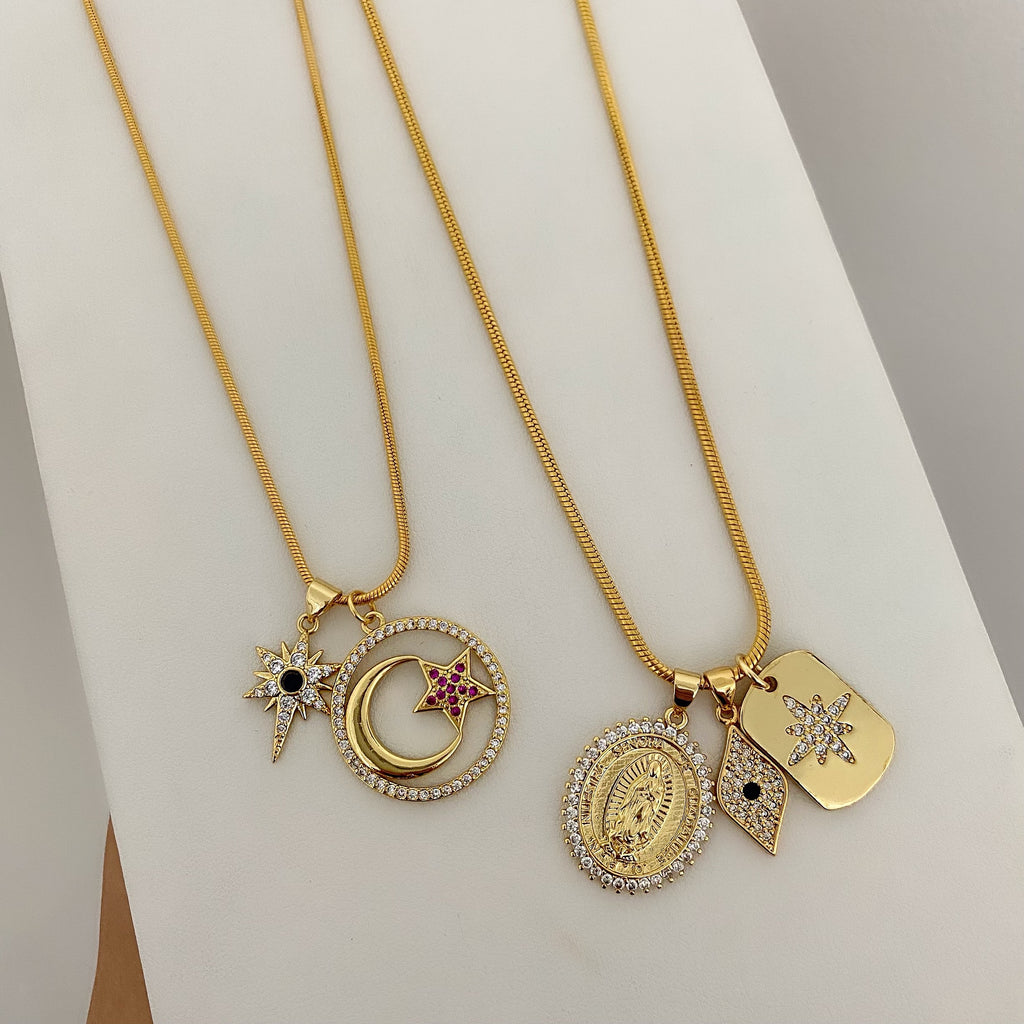 OPULENCE CHARM NECKLACES