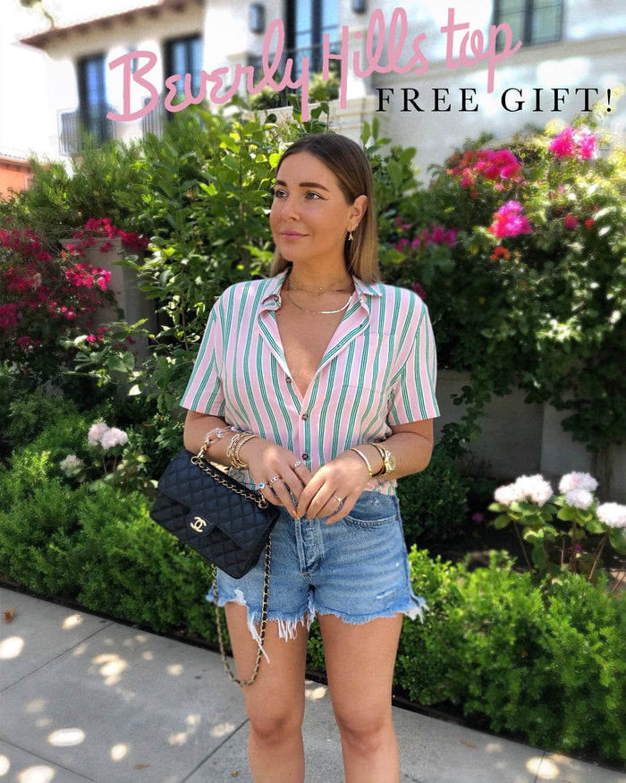 BEVERLY HILLS TOP (FREE GIFT!)
