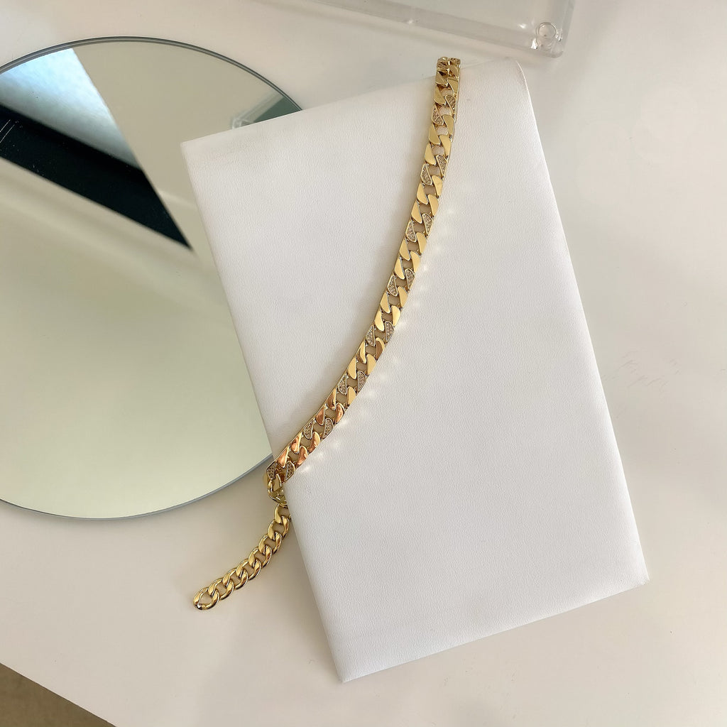 RUE PAVÉ (NECKLACE & BRACELET)