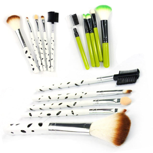 5 Pcs Foundation Beauty Eye Shadow Make-Up Brushes Set