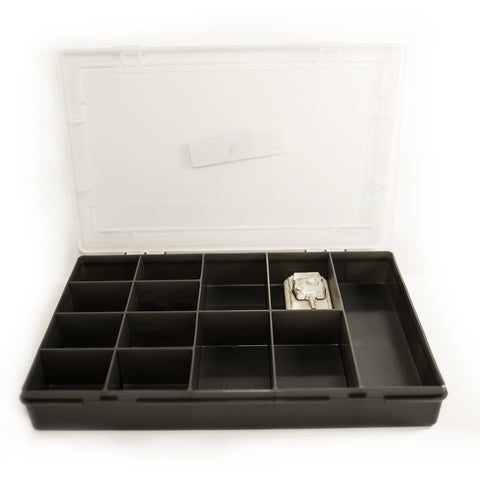 Graphite 13 Compartment Organiser - The miniature Architect