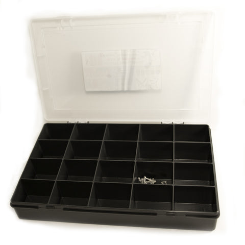 Graphite 20 Compartment Organiser - The miniature Architect