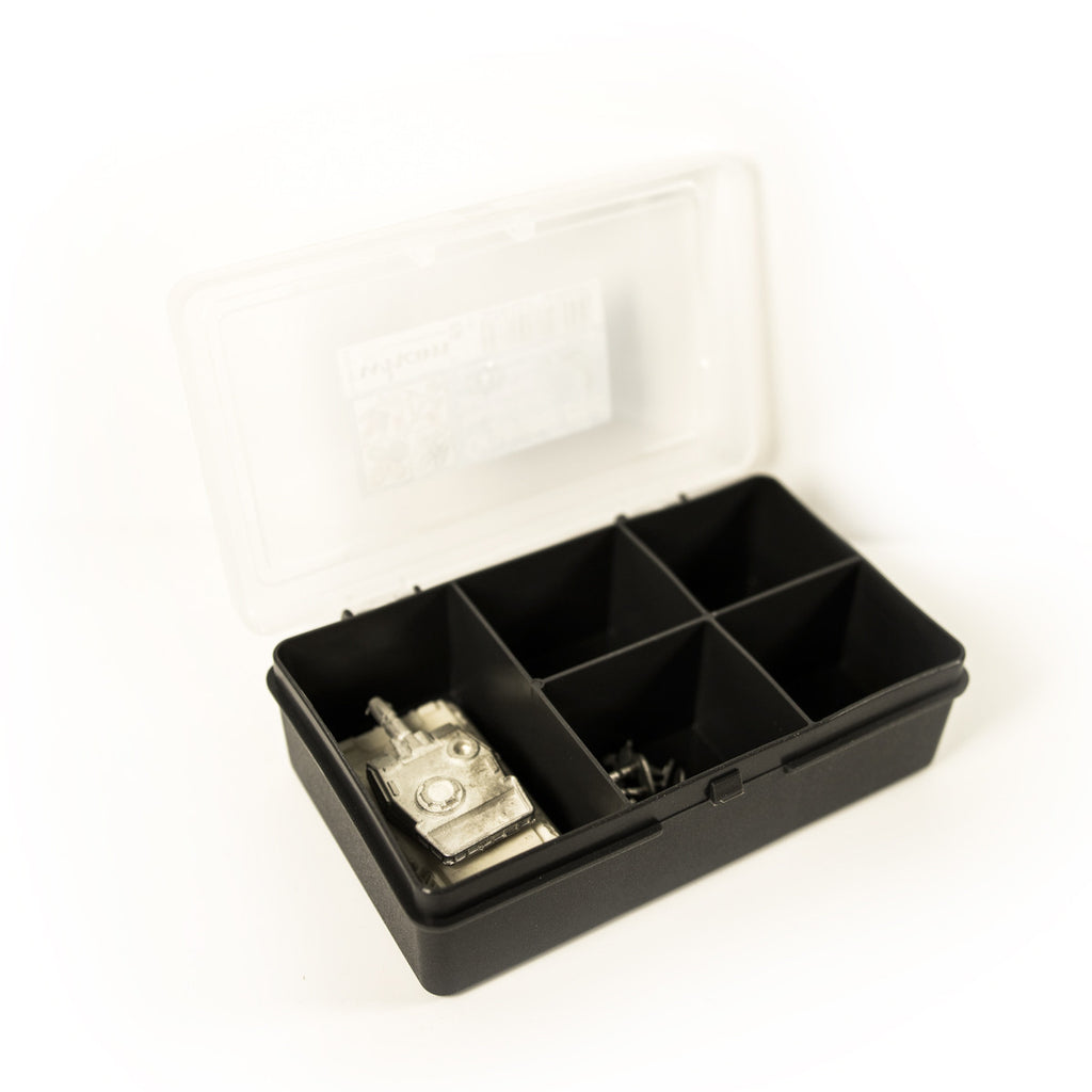 Graphite 5 Compartment Organiser - The miniature Architect