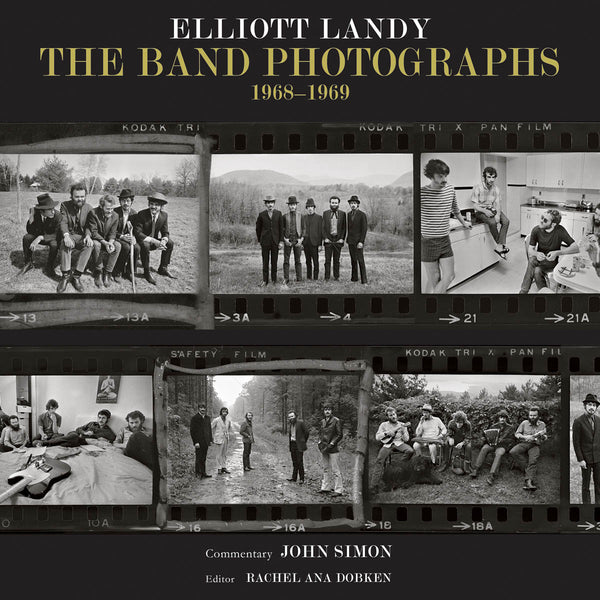The Band Photographs: 1968-1969: Basic Hardcover Edition