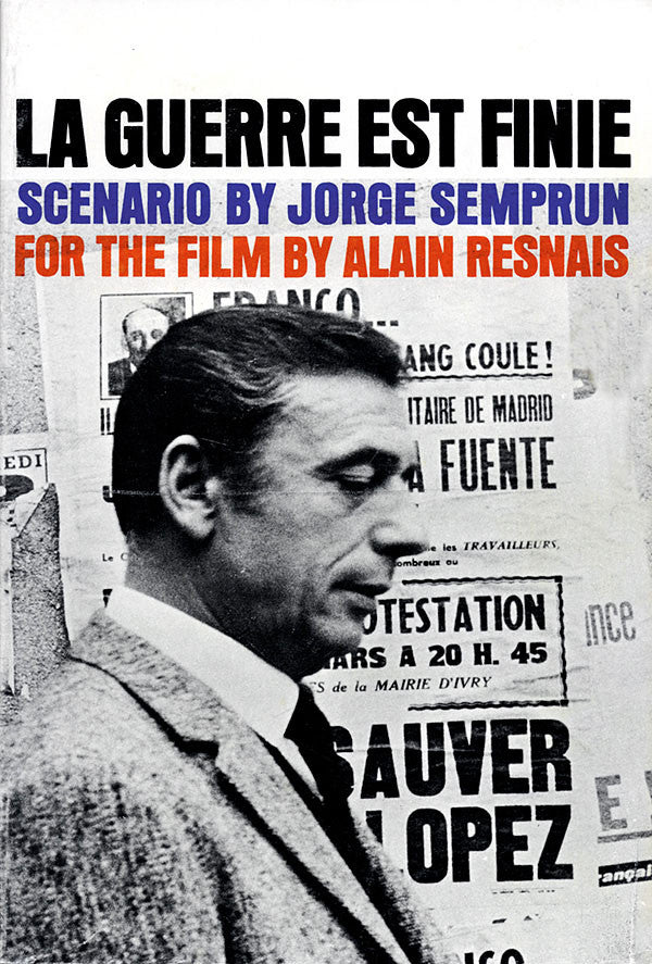 Scenario by Jorge Semprun for the film by Alain Resnais