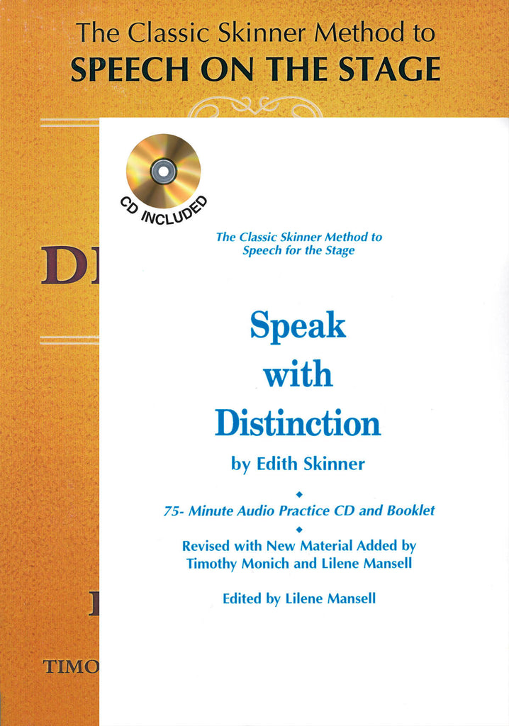Speak with Distinction - Book/CD/Booklet Package