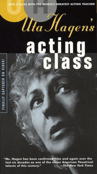 Uta Hagen's Acting Class: Two DVDs