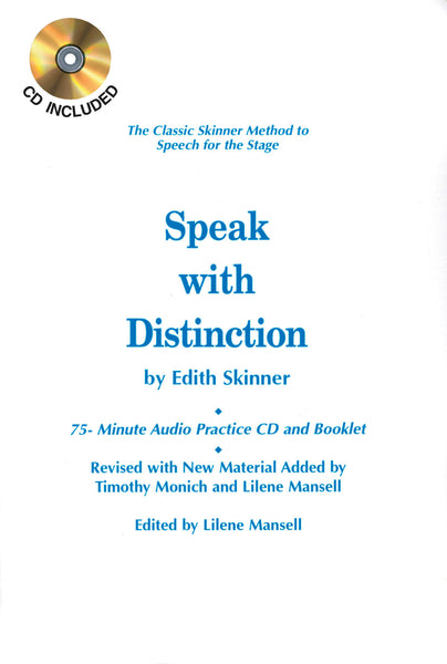 Speak with Distinction - 75-Minute Audio Practice CD and Booklet