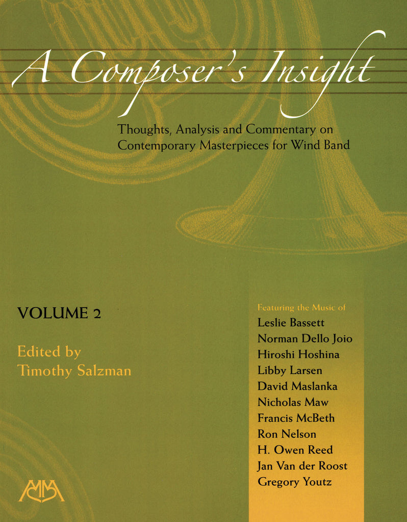 A Composer's Insight, Volume 2