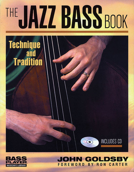 The Jazz Bass Book: Book/CD Pack