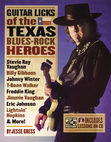 Guitar Licks of the Texas Blues Rock Heroes