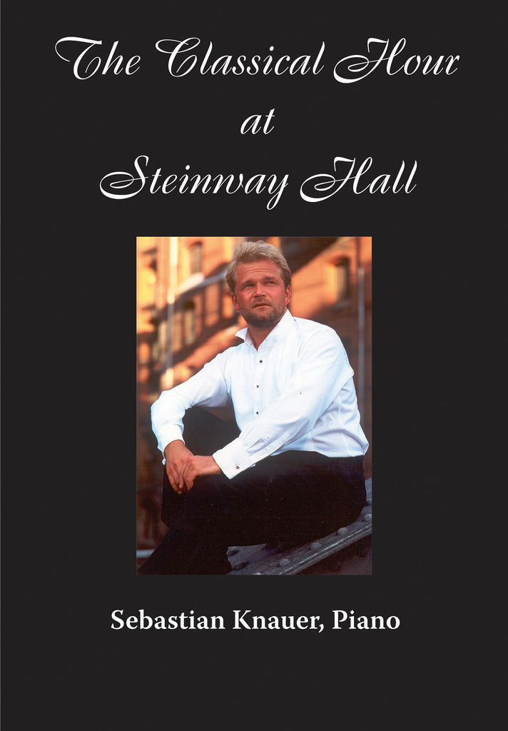 Sebastian Knauer, Piano: The Classical Hour at Steinway Hall