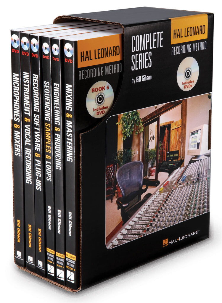 Hal Leonard Recording Method Complete Series - First Edition: Boxed Set Music Pro Guides