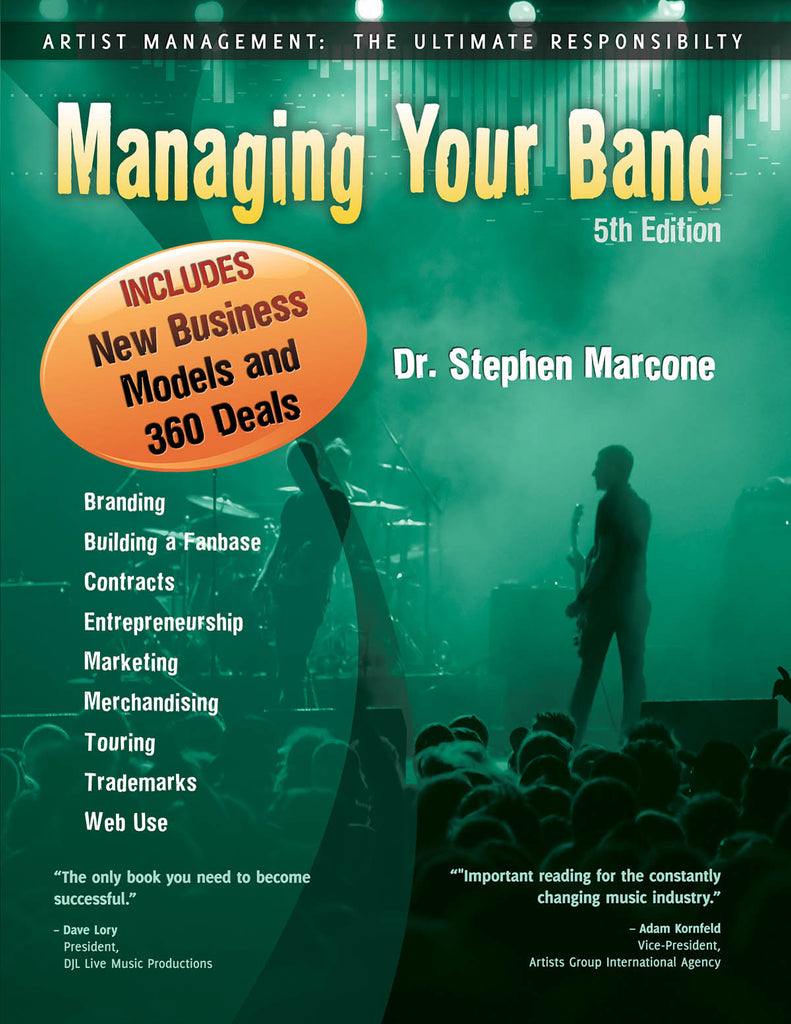 Managing Your Band: 5th Edition