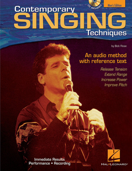 Contemporary Singing Techniques – Men's Edition: An Audio Method with a Reference Text