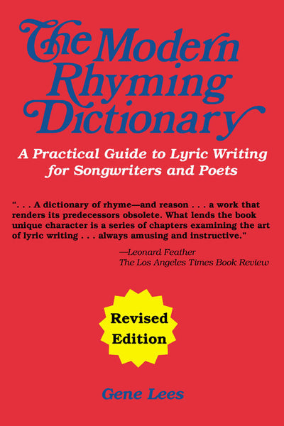 The Modern Rhyming Dictionary - Revised Edition