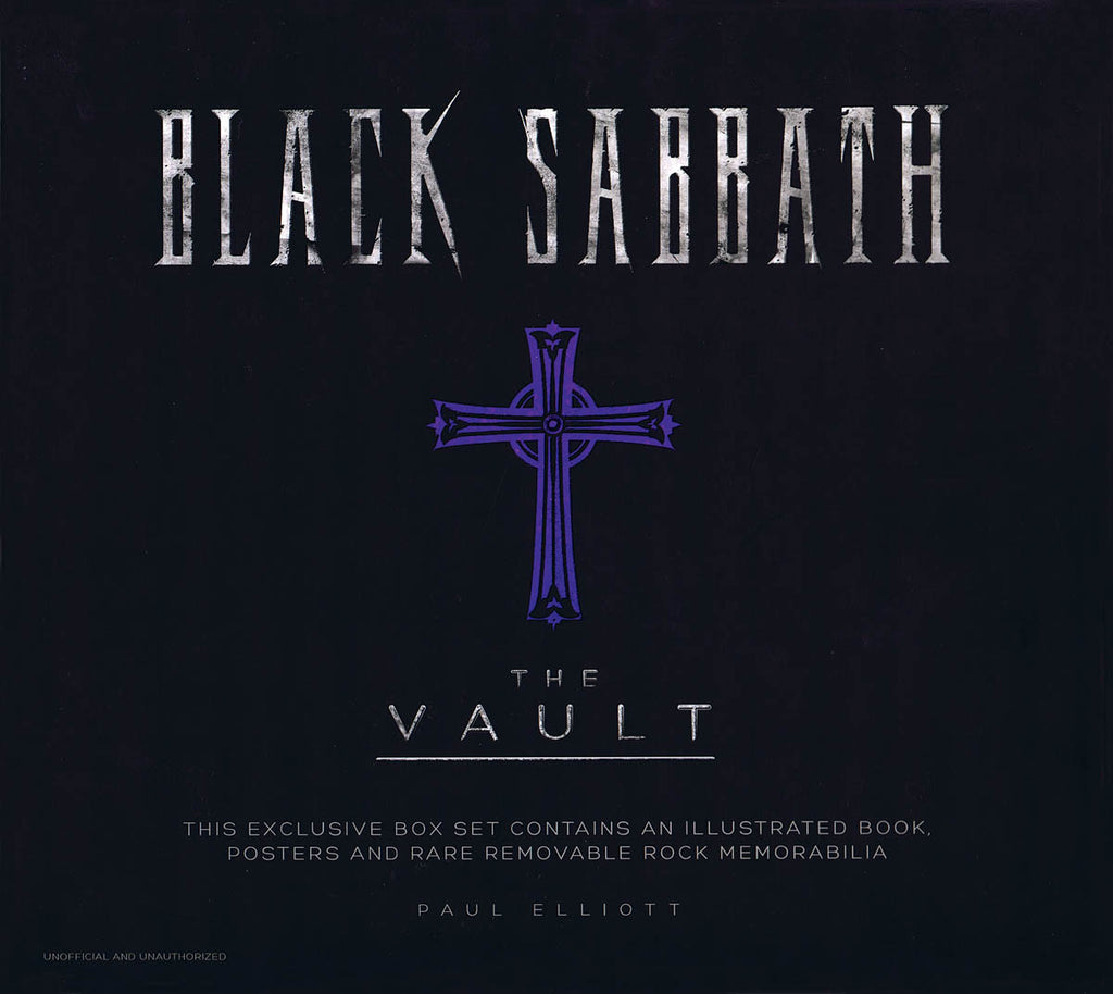 Black Sabbath: The Vault: Exclusive Box Set with Illustrated Book, Posters & Rare Removable Rock Memorabilia