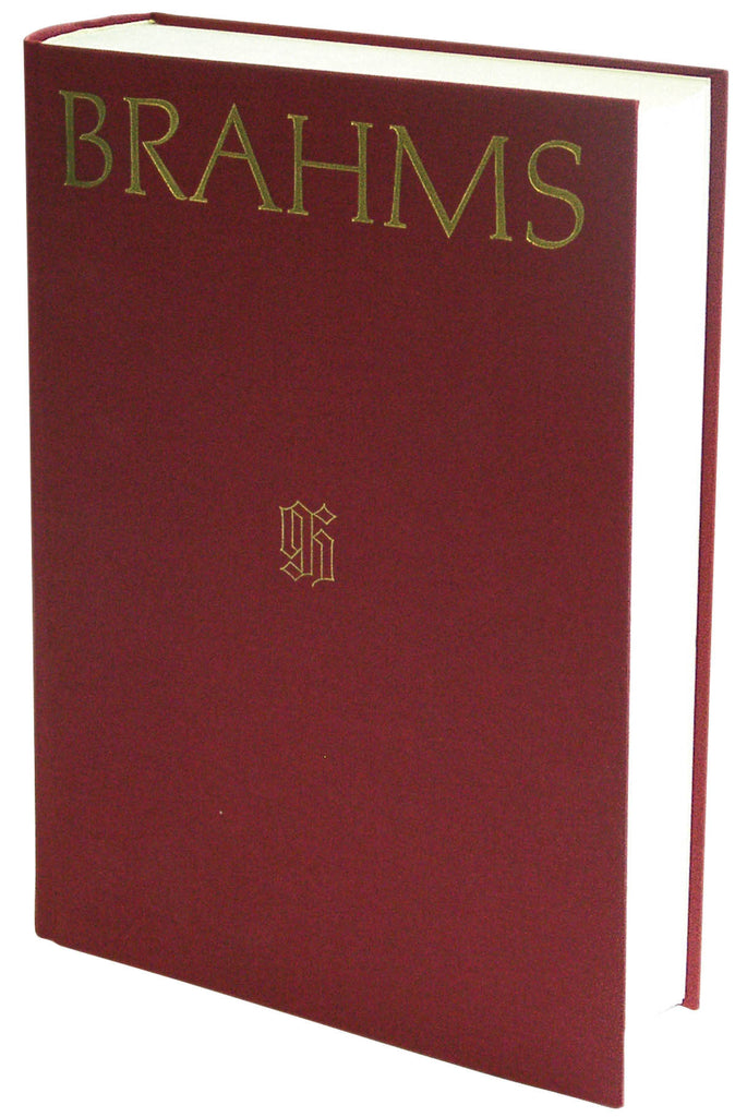 Johannes Brahms: Thematic Bibliography Clothbound
