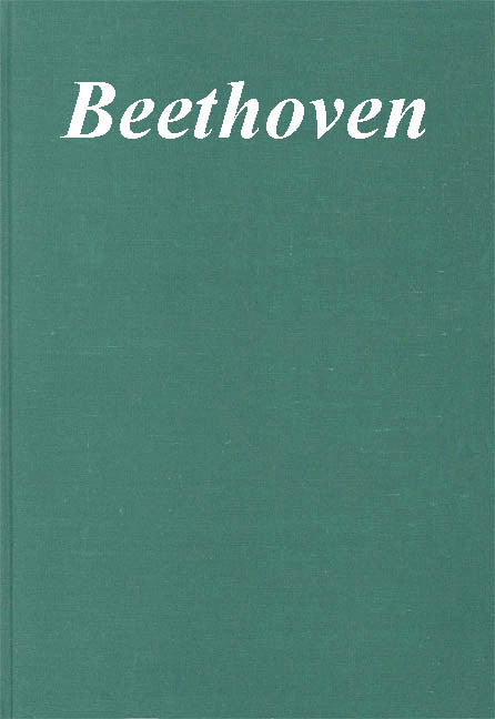 Ludwig van Beethoven - Autographe und Abschriften: Berlin State Library First Series: Manuscripts, Vol. 2 Clothbound