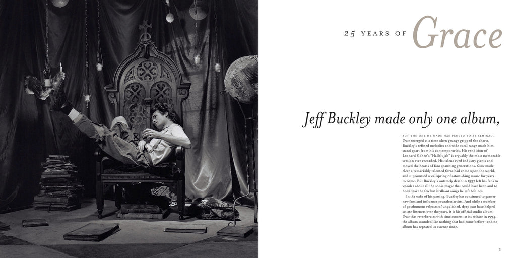 "25 Years of ""Grace"": An Anniversary Tribute to Jeff Buckley's Classic Album"