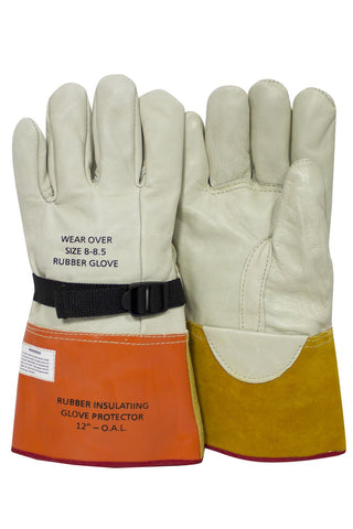 "12"" Glove Protectors Leather"