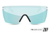 Lazer Face: Polarized Arctic Chrome