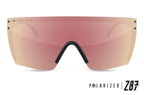 Lazer Face: Polarized Rose Gold
