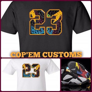 cfcb99ae3219 EXCLUSIVE TEE SHIRT to match the NIKE AIR JORDAN 7 BORDEAUX!