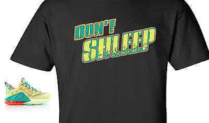 "EXCLUSIVE TEE / T-SHIRT to match the NIKE LEBRON 12 PALMERS! ""DON'T SHLEEP ON PALMERS"""