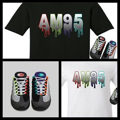 8257df5d EXCLUSIVE TEE SHIRT to match the NIKE AIR MAX 95 GREEDY!