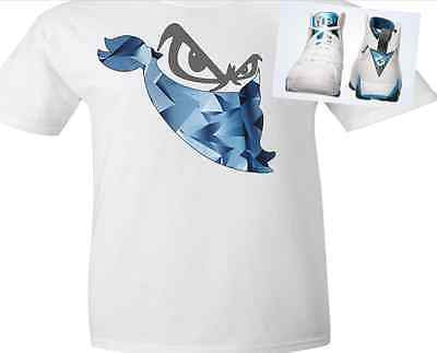 EXCLUSIVE SHIRT to match the NIKE JORDAN LEGEND BLUES,JORDAN 7 FRENCH BLUE or PANTONES