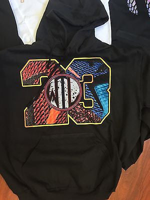 "HOODIE to match the NIKE LEBRON 12 WHAT THE ""WTL""'s!"
