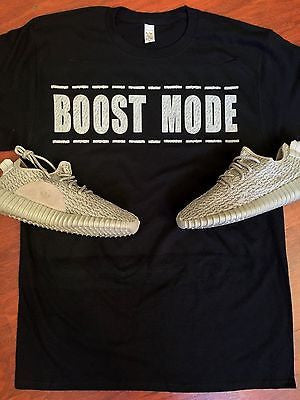 "EXCLUSIVE SHIRT to match the YEEZY BOOST 350 LOW MOONROCKS-""BOOST MODE"""