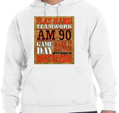 "HOODIE to match the NIKE AIR MAX 90 CORKS-""CORKBOARD MOTIVATION""!"