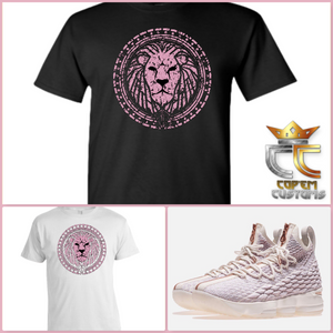 07d7e2a90a9 EXCLUSIVE TEE T SHIRT to match NIKE LEBRON JAMES 15  ROSE GOLD !