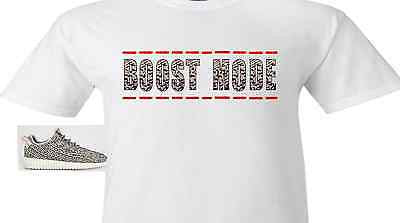 "EXCLUSIVE TEE SHIRT to match the BOOST 350 LOW SNEAKERS BY COP'EM - ""BOOST MODE"""