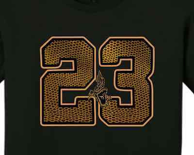 "EXCLUSIVE TEE SHIRT to match the NIKE AIR JORDAN 11 XI RETRO 'CROC' - ""CROC 23"""