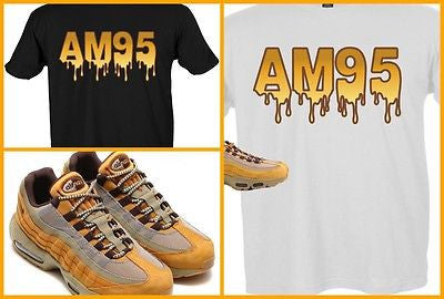 a2e61ccc EXCLUSIVE TEE SHIRT to match the NIKE AIR MAX 95 WHEAT's!