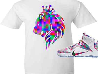 ... EXCLUSIVE TEE SHIRT to match the NIKE LEBRON XII 12 FINISH YOUR  BREAKFAST ... 3c21959ee202