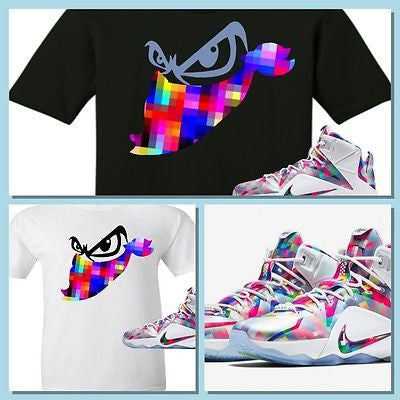 EXCLUSIVE TEE SHIRT to match the NIKE LEBRON XII 12 FINISH YOUR BREAKFAST-Bandit