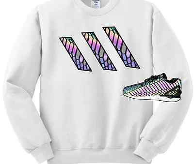 CREWNECK SWEATER/SWEATSHIRT to match the ADIDAS ZX FLUX XENO!