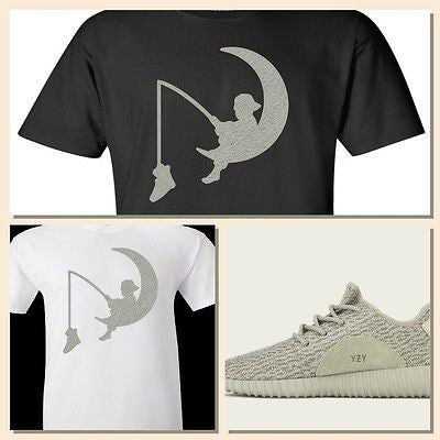 "EXCLUSIVE TEE / T-SHIRT to match the YEEZY BOOST 350 LOW MOONROCKS-""DREAMBOOST"""
