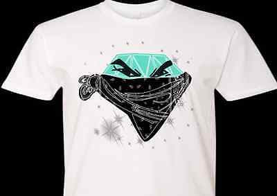 0872cbfbdbb5 EXCLUSIVE TEE T-SHIRT to match ANY TIFFANY DIAMOND MINT TURQUOISE NIKE –  Cop em Customs