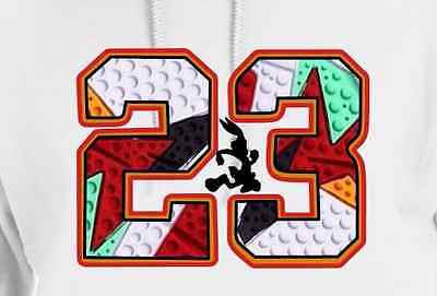 "HOODIE to match the NIKE AIR JORDAN 1 or 7 HARES - ""23 HARE""!"