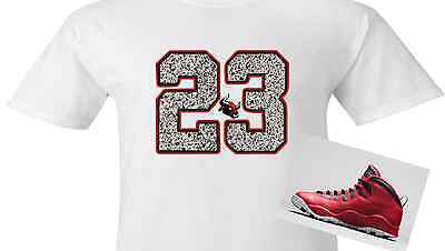 EXCLUSIVE TEE/T- SHIRT to match the NIKE AIR JORDAN BREDS OR BULLS OVER BROADWAY!