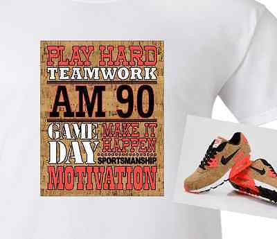 ... EXCLUSIVE SHIRT to match the NIKE AIR MAX 90 CORKS!